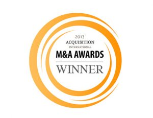 acquisition International 2013 Winner